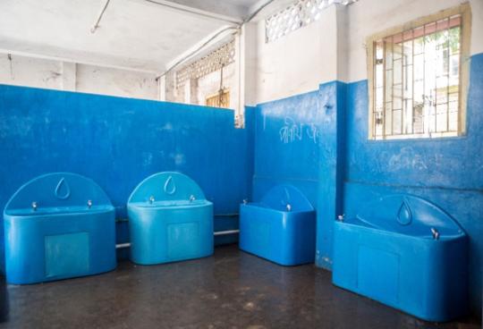 Splash Water Stations at Katjunagar Vidyapith