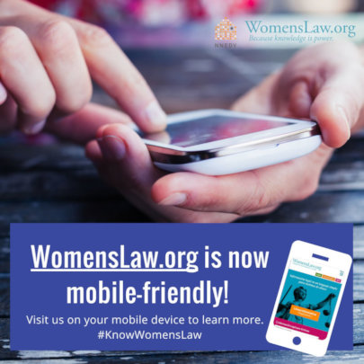 Changes at WomensLaw.org