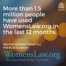 WomensLaw is Growing
