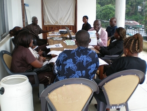 Marketing and Sales Workshop at STAR radio in Monrovia