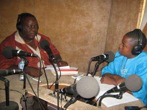 Producer D. Emmanuel Wheinyue hosts Dr. Jones