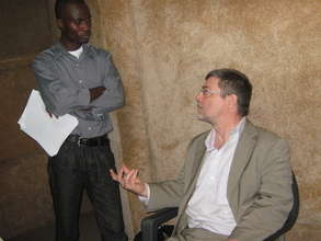 Fondation Hirondelle CEO visit to STAR
