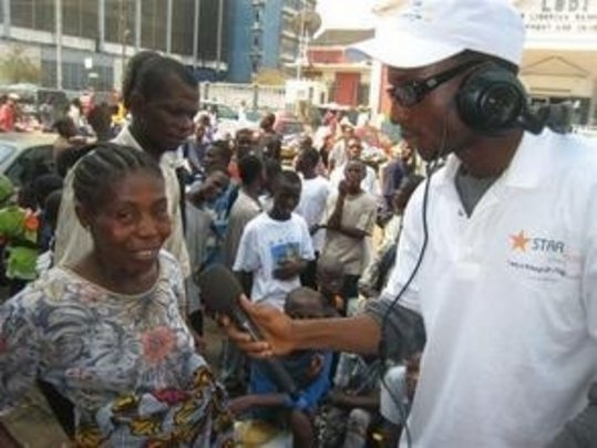 STAR Radio Blends Urban-Rural Dialogue in Liberia