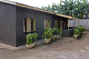 Student house, shared by eight ORI students
