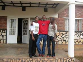 Students at their Group House