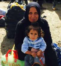 Syrian woman and child.
