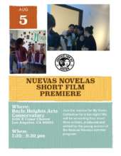 Invitation to Nuevas Novelas Shorts Premiere