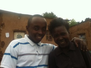 Passy's Mom (Right) with Country Director (Left)