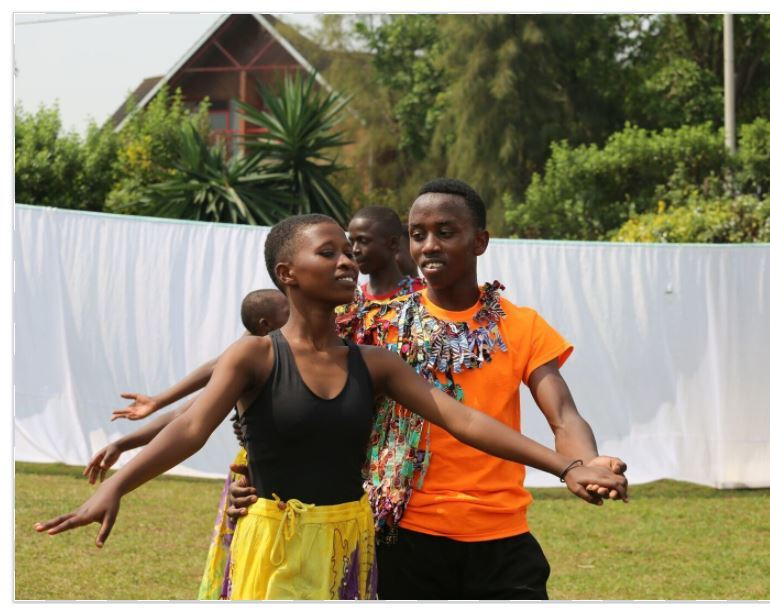 Performance from students at MindLeaps Rwanda