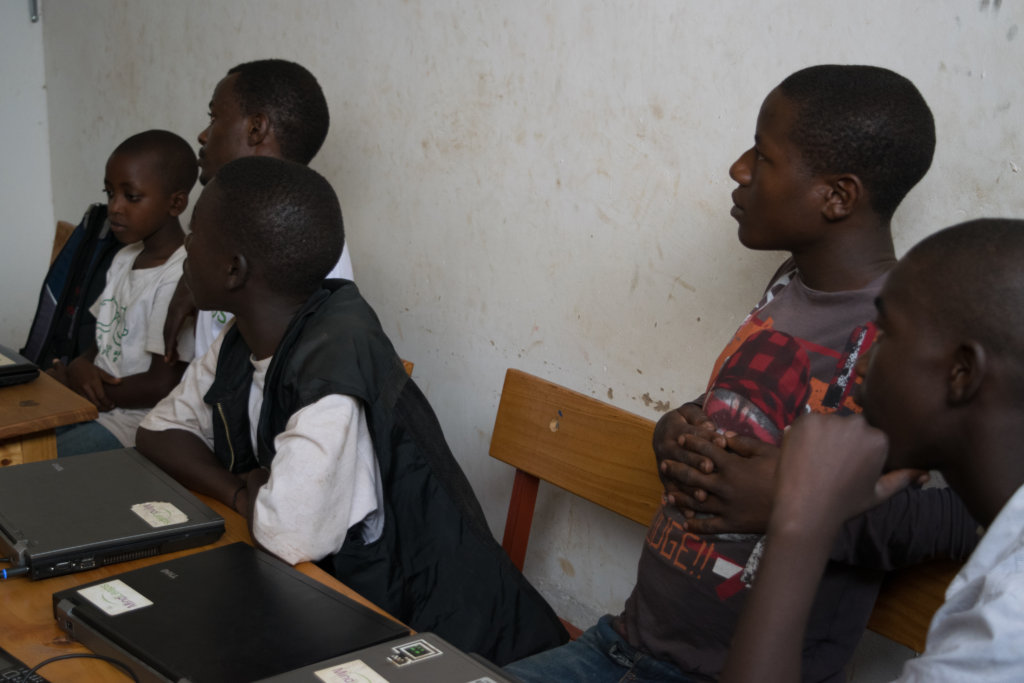 Digital Literacy: IT for Street Children