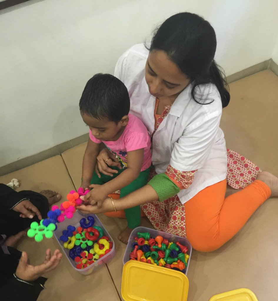 Give 1700 Therapies to Disabled Kids in India