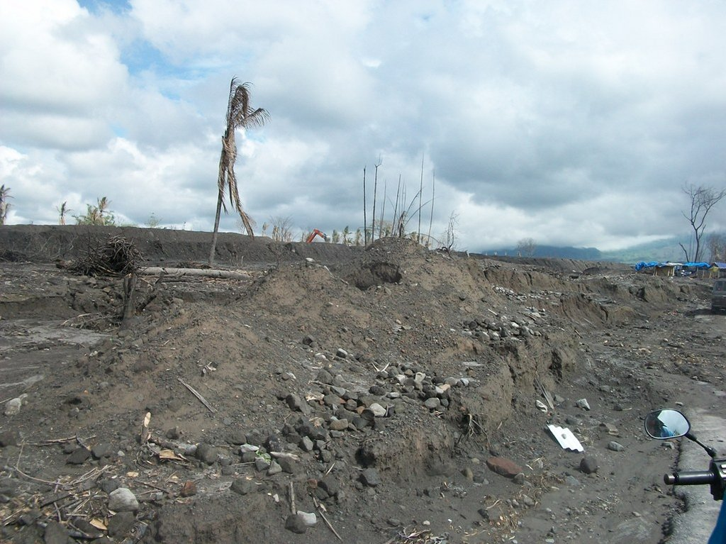 About 10 kilometers near from mount merapi