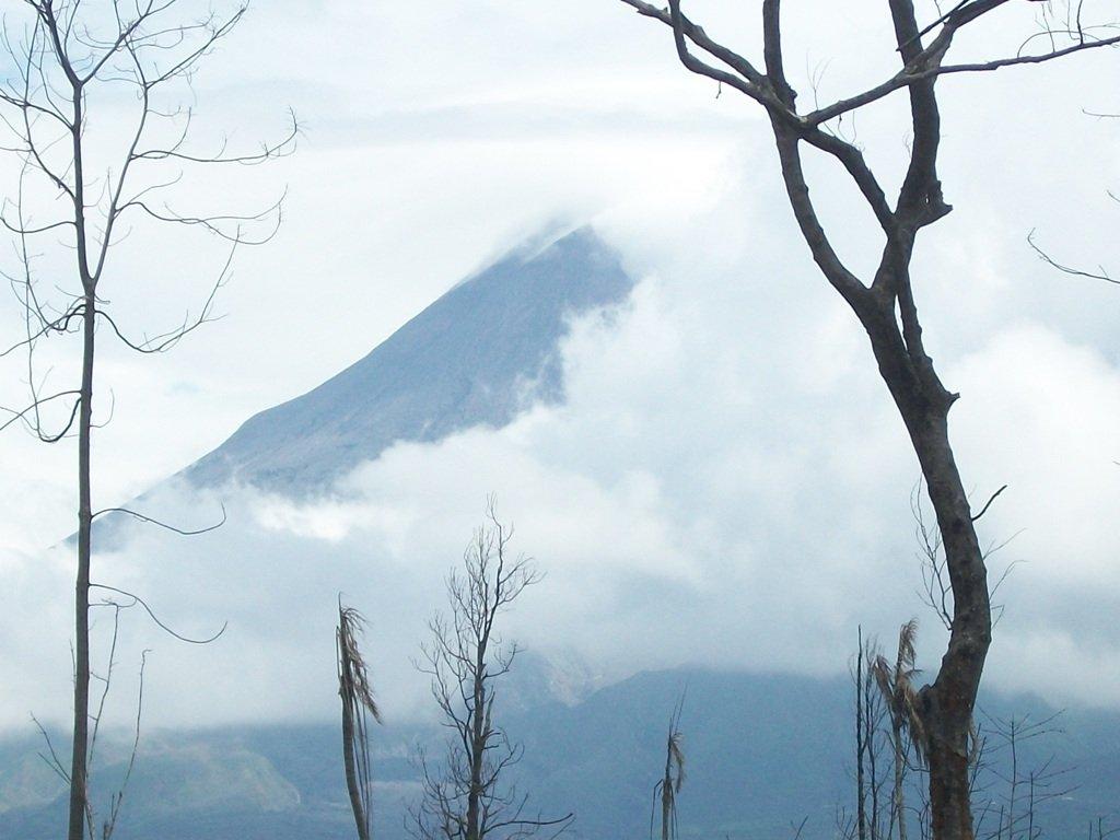 Mounth Merapi in Sleman Yogyakarta