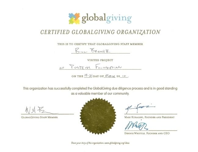 PUSPEM Green Project Certificate