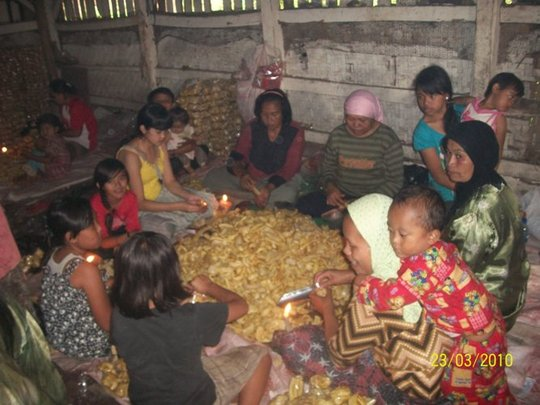 Assistance for Bantul Women