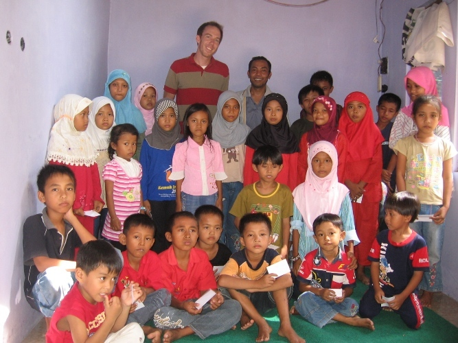 GlobalGiving visit our project