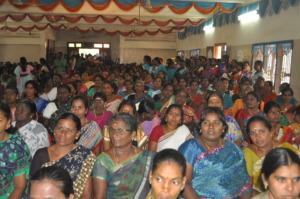 Awarenass to women to escape violence