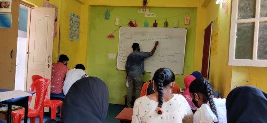 A peek into Akash's class