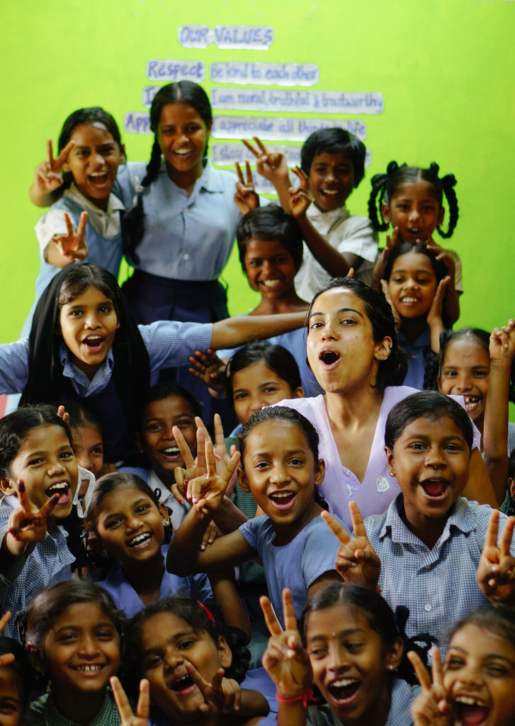 Transform the lives of 105 children in Hyderabad!!