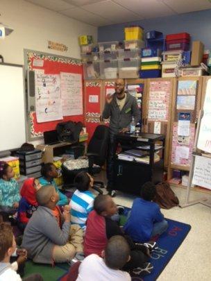 Darian Dauchan teaching an AFA workshop