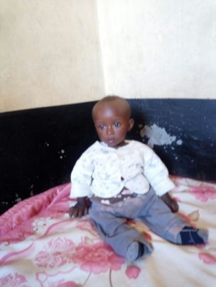 Kinoti at intake to the Macheo Malnourished