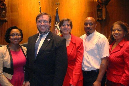 RespectAbility with advocates Janie and Eddie