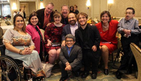 Hollywood leaders at Media Access Awards