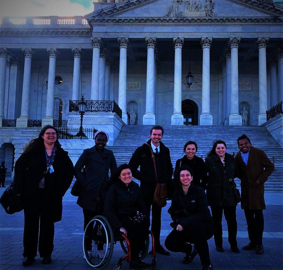 Fellows in front of U.S. Capitol Building (2019)