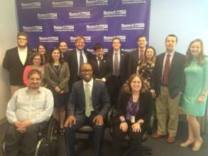 Calvin from Bipartisan Policy Center and team