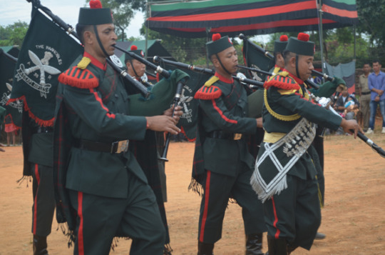 The Indian Army was also an active participant