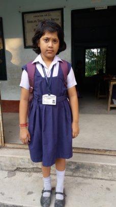 Ayantika - in School