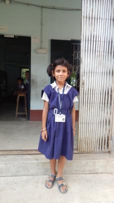 Usasi, Model School student of class III