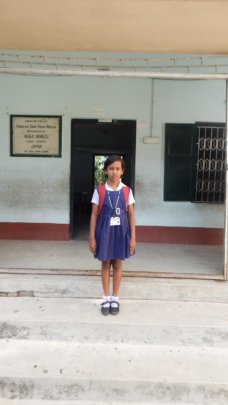 Shrestha ready for School