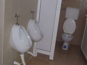 Renovated school toilets in Baljevac