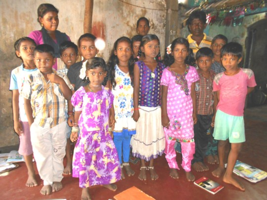 supporting 55 saltpan workers' children education