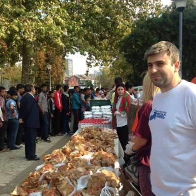 "Bayrami ""sofra"" (lunch) for refugees in Belgrade"