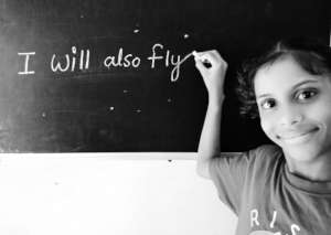 Every child at RISE aspires to fly