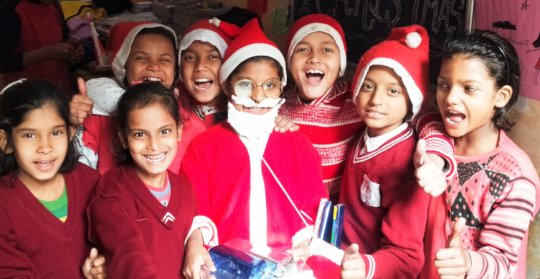 Christmas Celebration at RISE AROH