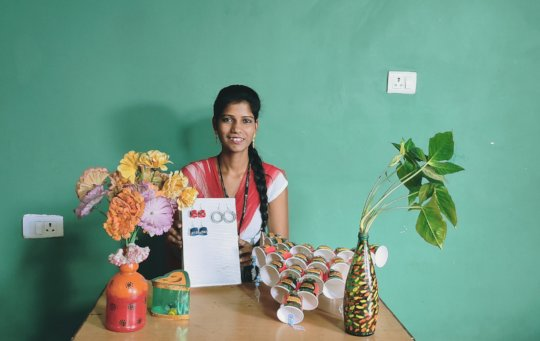 Creating things from Waste products