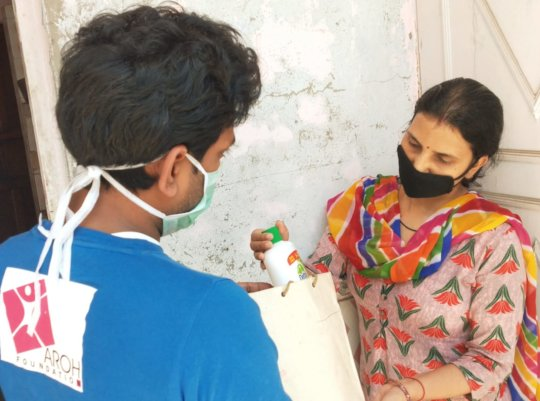 Sanitization kit distribution