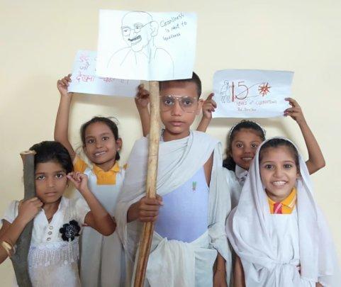 Gandhi Celebration at RISE AROH