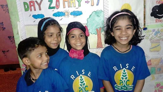 Happy kids at RISE!