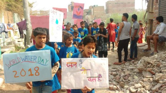 Health & Hygiene awareness rally