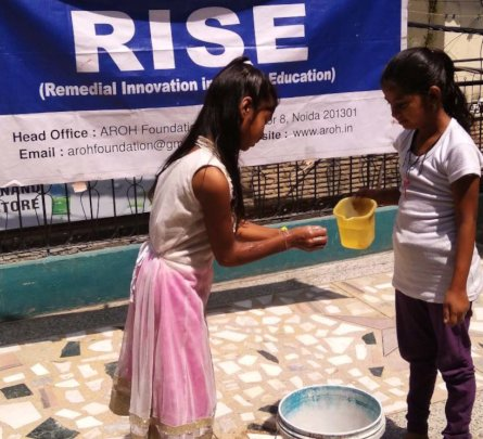 WASH workshop at RISE