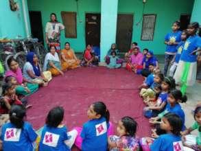 community awareness camps