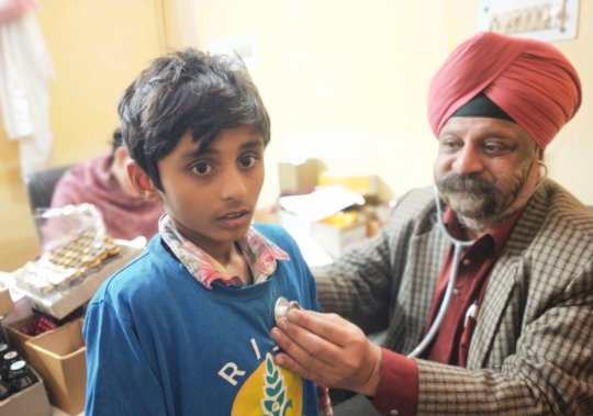 National Deworming Day at RISE AROH