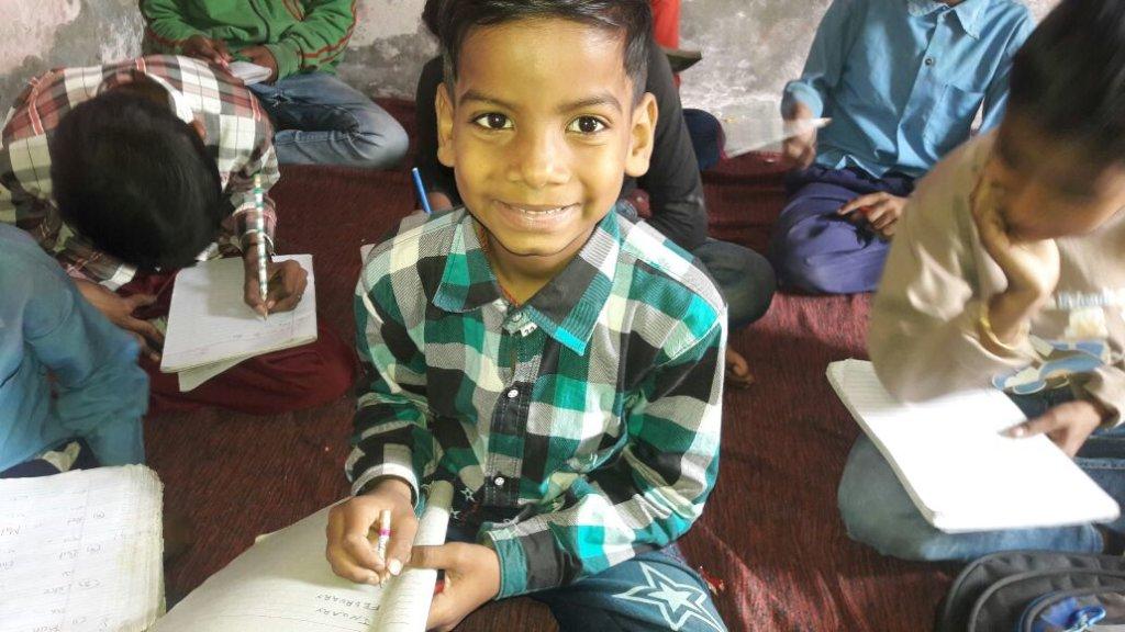 Happy RISE kid