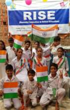Celebration of Indian Independence at RISE