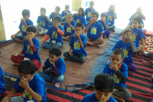 Yoga Day for RISE Kids