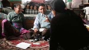 Home visit by BTF hospice team